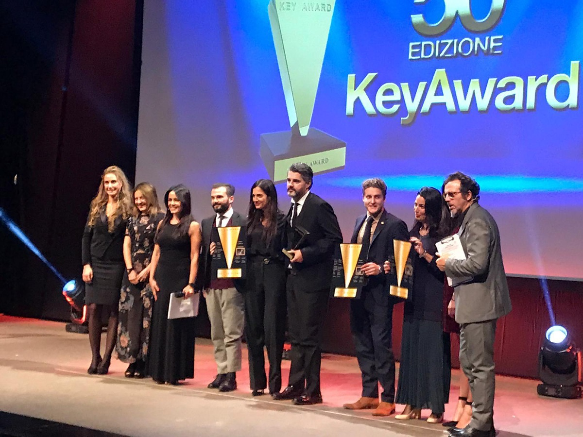 "JERMANN:""TEMPESTA"" DI APPLAUSI AL KEY AWARD 2018!"