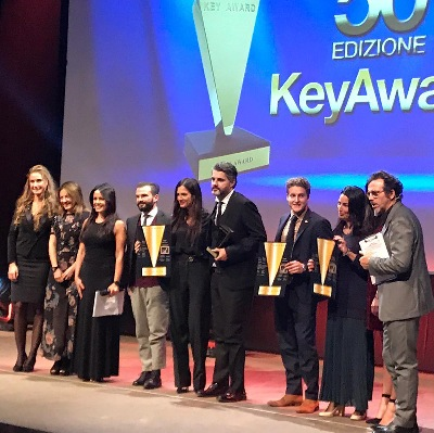 "JERMANN GREETED WITH A ""ROAR"" OF APPLAUSES AT THE KEY AWARD 2018!"