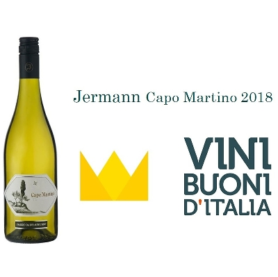 The Crown of the Guide Vini Buoni d'Italia for our Capo Martino 2018,  the highest recognition!