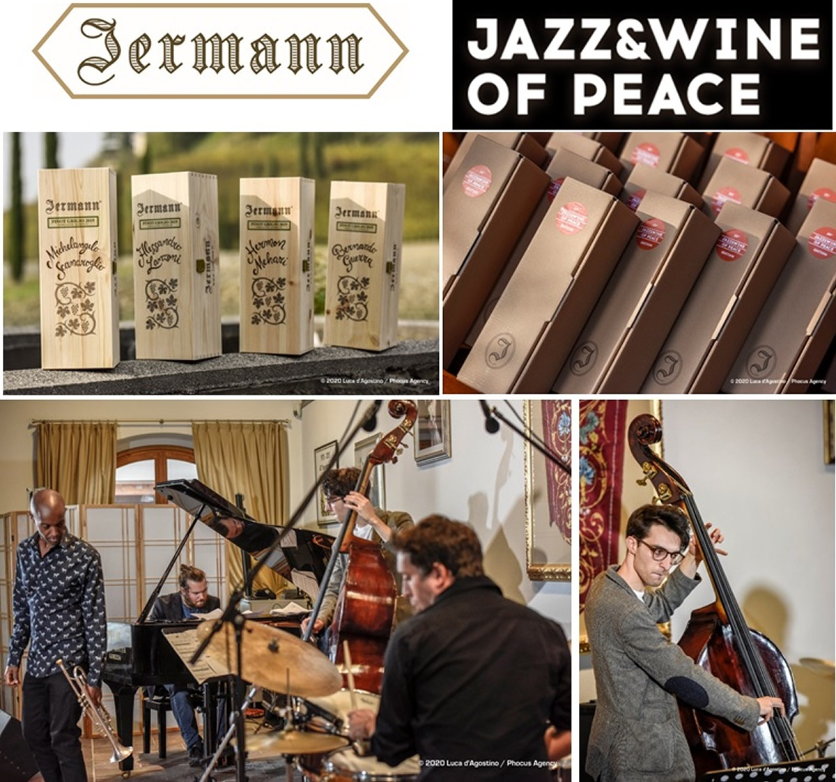 @Jermann Jazz & Wine of Peace con Michelangelo Scandoglio Group